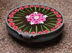 23 Ideas for flowers arrangements wild beautiful Housewarming Decorations, Diy Diwali Decorations, Festival Decorations, Flower Decorations, Wedding Decorations, Rangoli Designs Flower, Rangoli Ideas, Flower Rangoli, Flower Designs