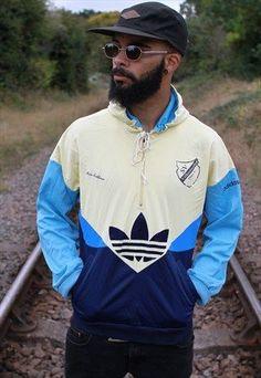 Vintage Adidas Half Zip-Up Track Jacket