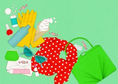 Illustration by Helmi Sirola for Paperi ja Puu- magazine, 2014