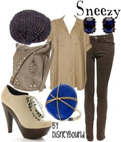 ..add brown boots or flats w/ green jewelry and or other accessories
