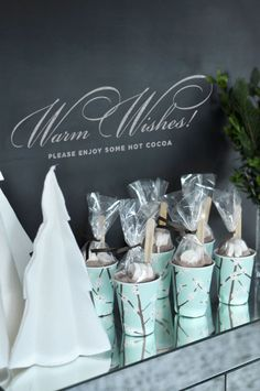 Winter Party Favors