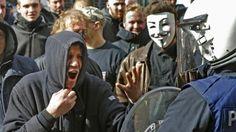 demonstrators in Brussels 27/03/2016