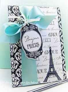 decoracion de invitacion de 15 años de paris (11)