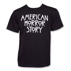 695f952f7087ea Ripple Junction American Horror Story AHS Logo Adult T-shirt  This American  Horror Story tee is professionally designed and printed.