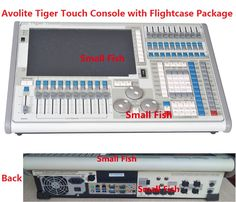 Titan Operating System Tiger Touch Controller Stage Light Control Console Moving Head Equipment 2048 DMX Channels in Flight case Price: USD 2400 | United States