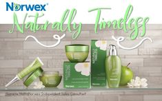 Naturally Reduce Signs of Aging with the Norwex Naturally Timeless Collection!