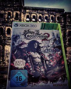 Game hunting in #Trier,  Germany. 👍  #vidadeungamer #gameon #Castlevania #castlevania2lordsofshadow #Konami #gamer #gamehunting #mercurysteam #xbox #xbox360 #videogames #videojuegos #hackandslash #action #gaminglife #gamenatix #gaminglife #gaming #powertotheplayers #retrocollectiveeurope #retro #trier #Germany #skgamenatix