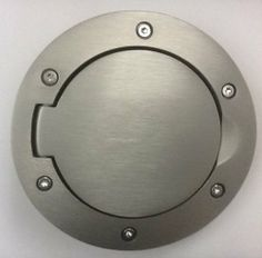 Mitsubishi Eclipse 2000-2005 3G Alloy Fuel Door OEM AEC00YDX02 Genuine Mitsubishi Part!. Exact Fit without Modifications. Fits All Eclipse 2000 - 2005.  #Mitsubishi #AutomotivePartsAndAccessories