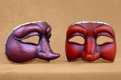 Commedia Dell Arte Colombine Mask by Piratemask on Etsy, $62.00