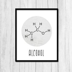 Alcohol Gifts Alcohol Poster Digital Download Man Cave Wall Art Bartender Gift Alcohol Print Bar Decor Printable Art Bartender Prints