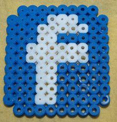 Facebook logo Hama beads by Christine