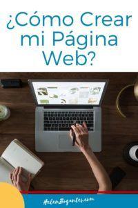 Cómo Crear Mi Página Web - Guía Gratis Make Money Blogging, How To Make Money, What To Write About, Content Marketing Strategy, Blog Planner, Blog Writing, Blogging For Beginners, Ideas, Finance Organization