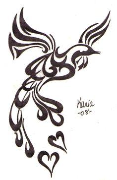 pin by ruth voigt on art pinterest phoenix bird tattoos phoenix rh pinterest com Phoenix Bird Tribal Tattoo Simple Tribal Bird Tattoos