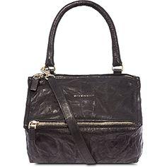 GIVENCHY - Pandora small washed leather satchel | Selfridges.com