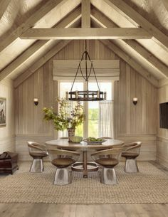 Rustic Dining Room.