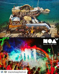 #Repost @blacksheepfestival  Presenting festival arena no.2 - @noabeachclub. Noa is the newest addition to the beach but nevertheless it already became the #37 best club in the world according to DJ MAG's Top 100 Clubs list! It's surface placed mostly above the sea makes it a pefect summer getaway. #bsf2016 #zrce2016 #noa #noabeachclub #zrce #zrcebeach #islandofpag #croatia #summer #club #clubbing #adriatic #sea #sun #blacksheepfestival #festival #music #djmag #djmagtop100clubs