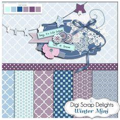 Digital Designers Freebie Download Hop Free digital mini scrapbook kit