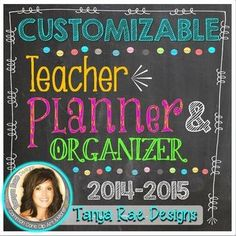 """Ultimate Teacher Planner & Organizer Binder - EDITABLE 
