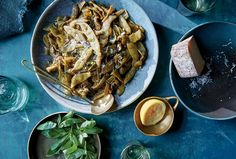 """NYT Long-cooked vegetables fall firmly into the """"ugly but good"""" camp of the Tuscan cucina povera, where flavor far outshines looks The beans will change from firm and bright to limp and gray But right around the two-hour mark, they'll transform again, into a dark, tangled mess, soft but defined"""
