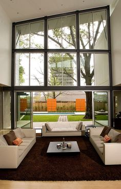 Modern Houston residence infused with openness designed by Intexure Architects
