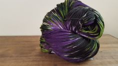 Over the Moon~ Hand Painted-Hand Dyed Superwash Merino & Nylon Sock Yarn- 420yds - sw merino 80/20- Dark Queen by TheHummingbirdMoon on Etsy