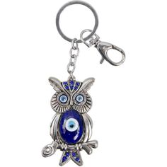 Blue Owl On Twig and Evil Eye Key Chain! FOR SALE • $7.55 • See Photos! Money Back Guarantee. CatsMagick Store Present your best items with Auctiva's FREE Scrolling Gallery. Owl and Evil Eye This will add some bling to your ride! This silver-tone owl sitting on a twig 291684368261