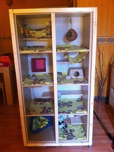 Ratty Cage - IKEA Hackers