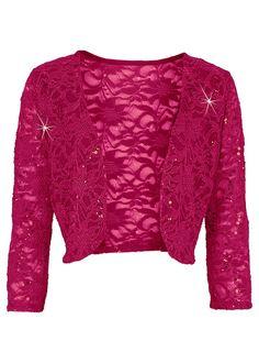 bonprix Bolero in schwarz Lace Bolero, Flirt, Blue Ivory, Elegant, Stretch Jeans, Men Sweater, Sequins, Leather Jacket, Plus Size