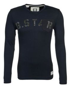 HATCHBACK - Long sleeved top - blue