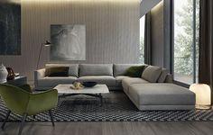Bristol sofa, designed by Jean-Marie Massaud.