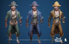 "ArtStation - Sea of Thieves - Base Sets, Josh ""Joshimon"" Mercier Pirate Games, Sea Of Thieves, Jack Sparrow, Aesthetic Anime, Beast, Character Design, Fantasy, Drawings, Artwork"