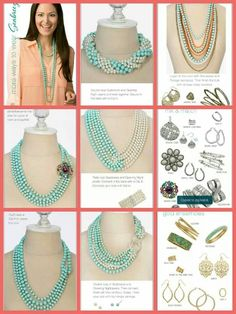 Seabreeze  - One of Premier Designs Jewelry's most popular necklaces because of its versatility.  http://ceciliafunk.mypremierdesigns.com