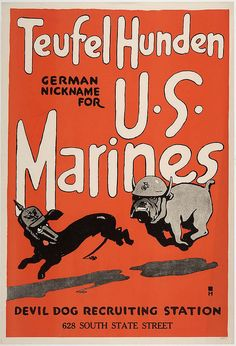 Teufelshunde by United States Marine Corps Official Page, via Flickr