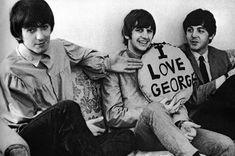George, Ringo, and Paul