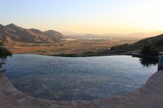 Jaw Dropping Infinity Pools from Around the World :: Southern California at Dusk.