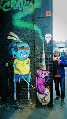 What's #morecolorful than graffiti like this? | Nokia Street Art Tour | Taken on a Nokia Lumia 1020
