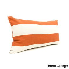 @Overstock - Add a splash of color and texture to any environment with these indoor/ outdoor plush throw pillow. This pillow features treated polyester with up to 1000 hours of U.V. protection, stuffed with a super plush polyester fiberfill.http://www.overstock.com/Home-Garden/Majestic-Home-Goods-Vertical-Stripe-Small-Pillow/7662632/product.html?CID=214117 $31.99