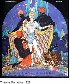 Deco Art from Theatre Magazine 1920's