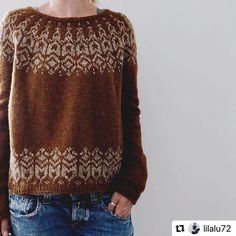 Ravelry: Manou pattern by Isabell Kraemer Rosa (rosapomar) has generously offered a discount for Brusca on her website here. Valid for 50 orders of a sweater quantity. Fair Isle Knitting Patterns, Fair Isle Pattern, Sweater Knitting Patterns, Arm Knitting, Knit Patterns, Fair Isle Pullover, Ravelry, Pulls, Knitwear