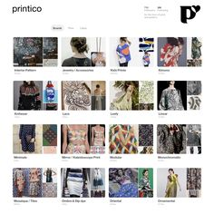 For print & pattern inspo, please head to my professional Pinterest page: https://www.pinterest.de/printico/