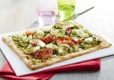 Pizza chèvre courgette et poitrine | Croquons La Vie - Nestlé