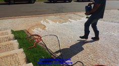 GOYAZLIMP - Limpeza de Pisos e Pedras ,Pós-obra Fazemos Impermeabilização de pisos em geral: LIMPEZA DE PEDRAS PORTUGUESAS PORTUGUESAS EM CONDO...