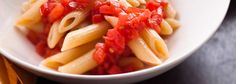 Pasta with fresh tomato sauce from Mario Batali