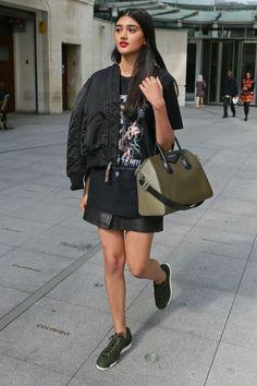 celebritiesofcolor: Neelam Gill leaving the BBC TV Studios in London