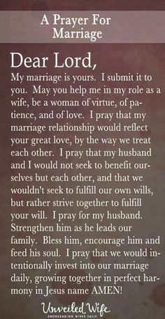 Excellent Marriage Tips are offered on our internet site. Read more. Prayer For My Marriage, Prayer For The Day, Godly Marriage, Strong Marriage, Marriage Relationship, Happy Marriage, Marriage Advice, Love And Marriage, Fierce Marriage