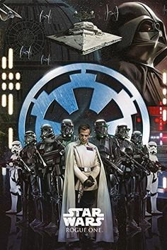 Star Wars Rogue One  Movie Poster  Print The Empire Size 24 x 36 -- For more information, visit image link.