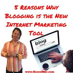 5 Reasons Why Blogging is the New Internet Marketing Tool Do you ever feel like you know just enough about Blogging to be dangerous? Let s see if we can fill in some of the gaps with the latest info from Blogging experts. Blogging is a concept that started in late 90s. It used to be [ ]