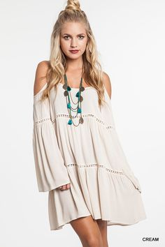 Knitted Belle Boho Babe Dress