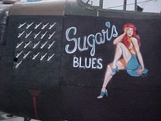 art on fighter planes | Bomber Command Museum of Canada - Full Size Nose Art Replica Paintings
