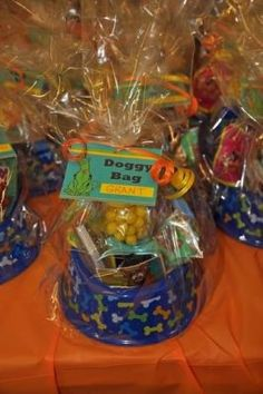 Change to Paw Patrol and viola! Hostess with the Mostess® - Scooby Doo Pirates Ahoy Party Scooby Doo Doggy Bags 2 Birthday, Puppy Birthday Parties, Puppy Party, Birthday Party Themes, Doggy Birthday, Birthday Ideas, Fete Emma, Cumple Paw Patrol, Paw Patrol Birthday